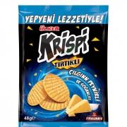 Ülker Krispi Tırtıklı Kraker Peynir-soğan 48gr (mavi) - 20li Koli