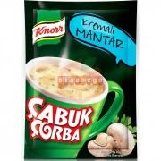 Knorr Çabuk Çorba Kremalı Mantar - 24`lü Paket