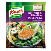 Knorr Salata Sosu Tatlı Kırmızı Biberli-maydonuzlu 5`li -18`li Paket