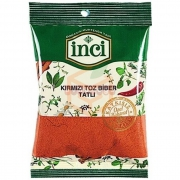 İnci Kırmızı Toz Biber(tatlı)poşet 30gr - 10lu Paket