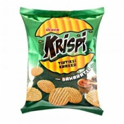 Ülker Krispi Tırtıklı Kraker Baharatlı 48gr (yeşil)-20li Koli