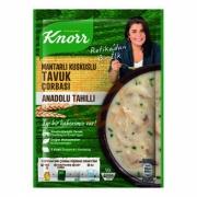 Knorr Yöresel Mantarlı Kuskuslu Tavuk Çorbası -12`li Paket (k:4)