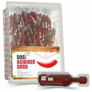 Sosi (tek Kullanımlık) Acıbiber Sosu 10ml -80`li Paket