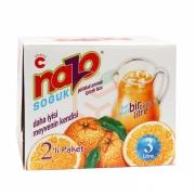 Nazo Toz İçecek Portakal 9gr -24lü Paket (1.5 Litre -adet)