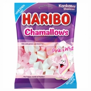 Haribo Chamallows Pınk-whıte 70gr -24`lü Koli
