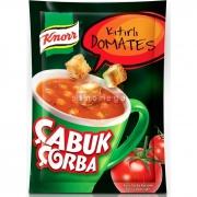 Knorr Çabuk Çorba Kıtırlı Domtates - 24`lü Paket