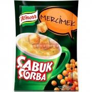 Knorr Çabuk Çorba Mercimek - 24lü Paket