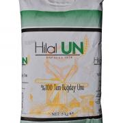 Hilalun Taş Değirmende Öğütülmüş %100 Tam Buğday Unu (5kg) 5 Tb