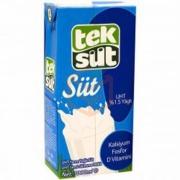 Teksüt Yarım Yağlı Süt 1 Lt