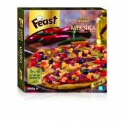 Feast Gurme Dondurulmuş Meksika Usulü Pizza 450 Gr (min. 2 Paket)