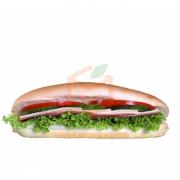 Baget Salamlı Kaşarlı Sandviç