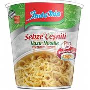 İndomie (bardak) Sebzeli Hazır Noodle 60gr -24lü Koli