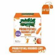 Doğadan Probiyotik Çay Rooibos Vanilya 14lü Paket -12li Koli
