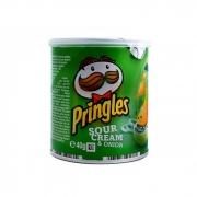 Pringles Sour Cream&onion(soğan)40 Gr (a.yeşil)  12' li Koli