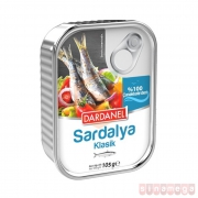 Dardanel Sardalya 105 Gr (klasik)  12' li Paket