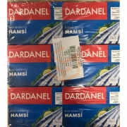 Dardanel Hamsi 110 Gr (karadeniz)  12' li Koli