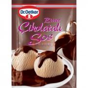 Dr.oetker Bitter Çikolatalı Sos 125 Gr 24'lü Koli
