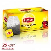 Lipton Yellow Label Tea 25' li Bardak - 12' li Koli