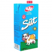 Kay Süt Yağlı  1 lt 12' li Koli