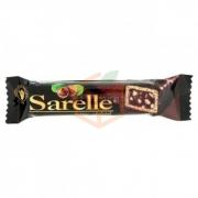 Sarelle Bitter Çikolatalı Gofret 33 Gr 20' li Paket