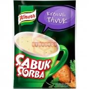 Knorr Çabuk Çorba Kremalı Tavuk 24' lü Paket
