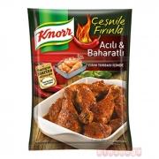 Knorr Tavuk Çeşnisi Acılı Baharatlı  12' li Paket