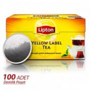 Lipton Yellow Label Demlik Poşet 100' lü  16' lı Koli