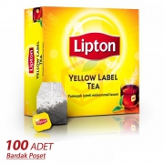 Lipton Yellow Label Bardak 100' lü  6' lı Koli