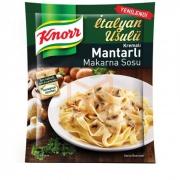 Knorr Makarna Sosu Kremalı Mantarlı  12' li Paket