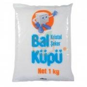 Balküpü Paket Toz Şeker 1 Kg  20' li Paket