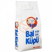 Balküpü Paket Toz Şeker 5 kg  6' lı Koli