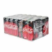 Coca Cola Zero Kutu  330 ml 24' lü Koli