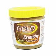 Gold (crunchy) Parçacıklı Krem Fıstık 340 Gr  12' li Koli