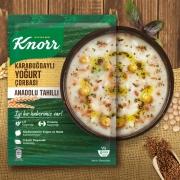 Knorr Yöresel Karabuğdaylı Yoğurt Çorbası 12' li Paket