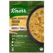 Knorr Yöresel Dövme Buğdaylı Yüksük Çorba 12' li Paket