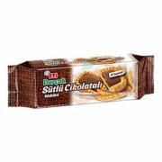 Eti Burçak Sütlü Çikolatalı Bisküvi 114 gr (k:16350)-12`li Koli