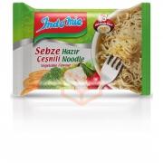 İndomie Sebze Çeşnili Hazır Noodle 75 Gr 40' li Koli