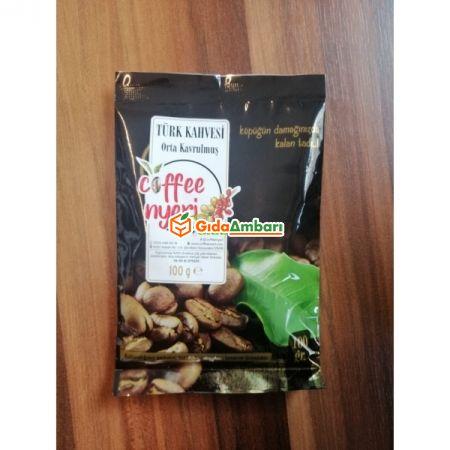Orta Kavrulmuş Turk Kahvesi  100x12 Perakende - İçecekler - Kahve - Kahve -