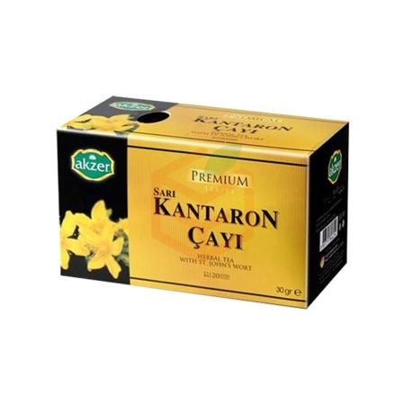 Akzer Sarı Kantoron Çayı (30 Gr) | Gıda Ambarı