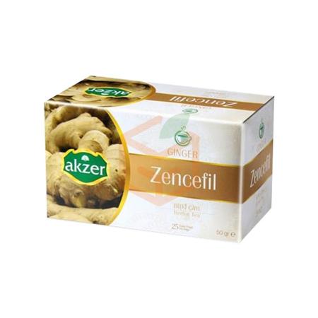 Akzer Zencefil Çayı (50 Gr)  | Gıda Ambarı