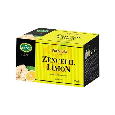 Akzer Zencefilli Limon Çayı (30 Gr) | Gıda Ambarı