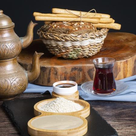 Bidon Tahin 550 Gram / 12 Li Paket   Gıda Ambarı