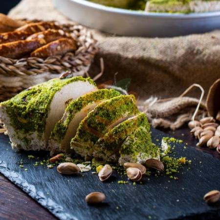 Tepsi Fıstıklı Helva 5 Kg Paket | Gıda Ambarı