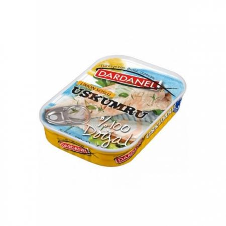 Dardanel Uskumru Limon Soslu -zeytinyağlı 110gr - 12li Paket  | Gıda Ambarı