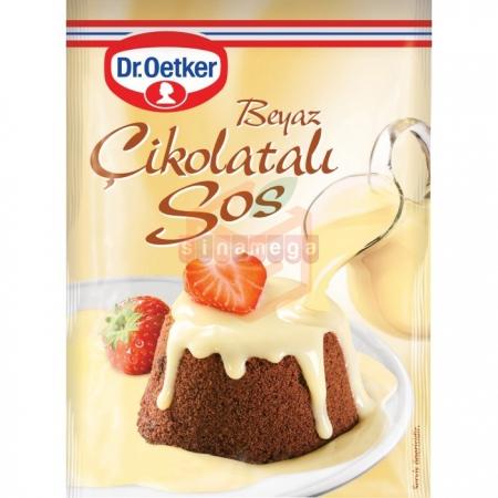 Dr.oetker Beyaz Çikolatalı Sos 80gr - 24lü Koli  | Gıda Ambarı
