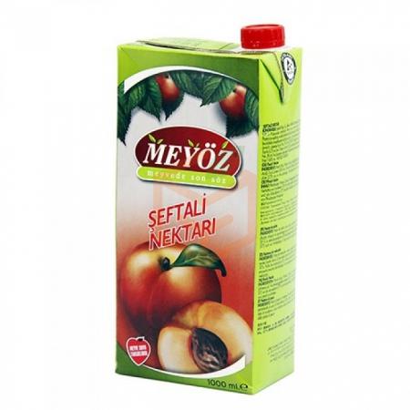 Meyöz Şeftali 1lt - 12li Koli  | Gıda Ambarı