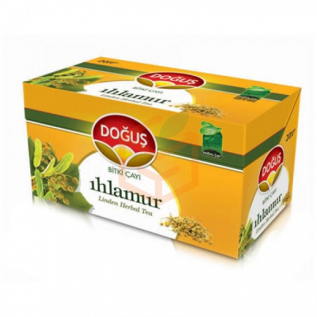 Doğuş Bitki Çayı Ihlamur 20- 12li Koli  | Gıda Ambarı