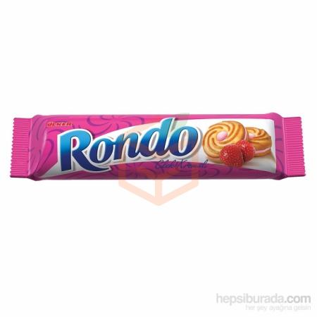 Ülker Rondo Çilek Kremalı 61gr(ü-00128-04) - 24lü Koli  | Gıda Ambarı