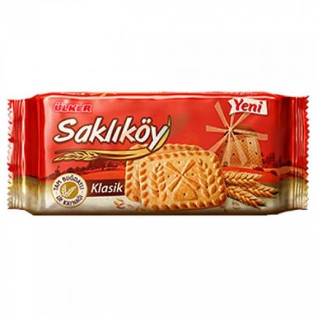 Ülker Saklıköy Klasik Bisküvi 95gr-12li Koli  | Gıda Ambarı