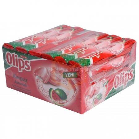 Olips Stick Şeker Karpuz 28gr -24lü Paket  | Gıda Ambarı